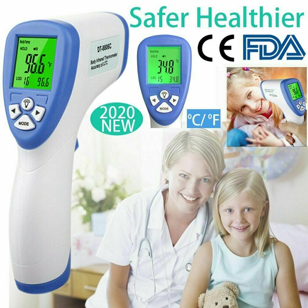 Digital IR Infrared fever Forehead Thermometer Gun