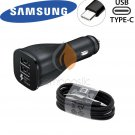 Samsung Galaxy Adaptive Fast Car Charger With Type C Cable