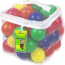 Click N' Play Pack of 50 Phthalate Free BPA Free Crush Proof Plastic Ball