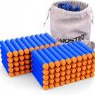 Refill Darts 100PCS Bullets Ammo Pack for Nerf N-Strike Elite Series – Blue