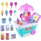 Kids Role Pretend Play Toys Set Gift Music Lighting Ice Cream Cart Toy