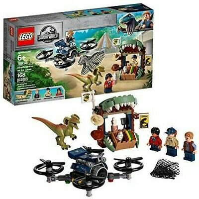 LEGO Jurassic World� - Dilophosaurus on the Loose 75934 [New Toy] Br