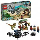 LEGO Jurassic World™ - Dilophosaurus on the Loose 75934 [New Toy] Br