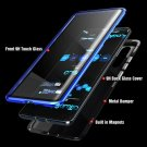 Double Sided Tempered Glass Magnetic Case For Samsung Phones