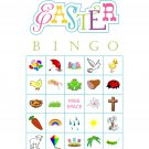 Easter Bingo 100 cards, prints 1 per page