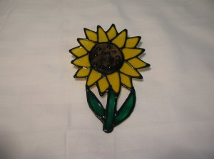 Sunflower Pop Bottle Suncatcher