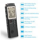 Rechargeable USB Digital Audio Voice Recorder Dictaphone MP3-32GB