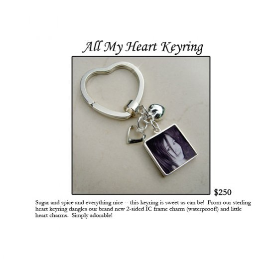 All my heart Keyring