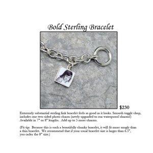 Bold Sterling Silver Bracelet
