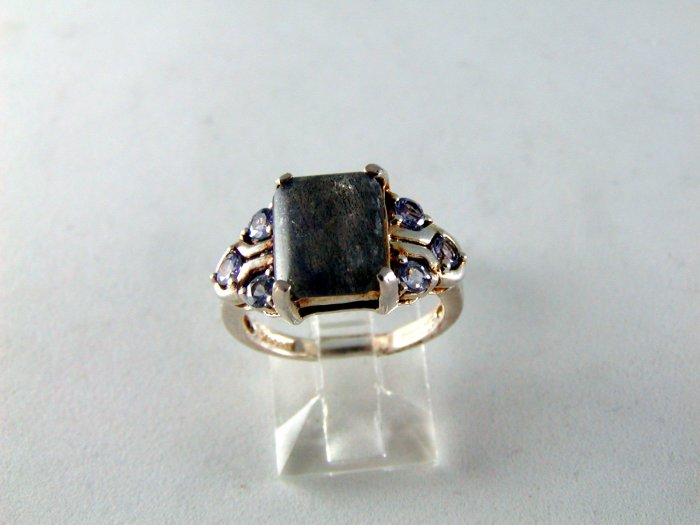 VINTAGE STYLE MOONSTONE RING SIZE 5 1/2