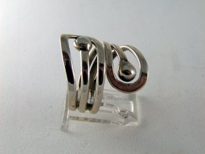 VINTAGE MEXICAN STERLING SILVER RING SIZE 8