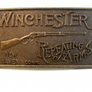1960's Winchester Repeating Rifles New Haven Conn. Belt Buckle