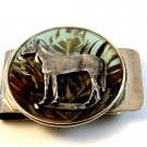 New Old Stock Horse Standing in Green Field Money Clip