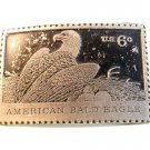 Vintage American Bald Eagle U.S. 6 Cent Stamp Belt Buckle