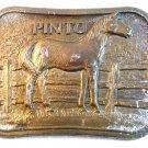 Vintage 1960 - 1970's Pinto Horse Belt Buckle