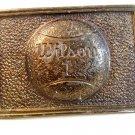 Vintage Wilson 1 Belt Buckle