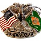 1992 The First State Delaware Belt Buckle Made in U.S.A.