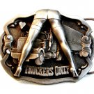 1992 Truckers Only Belt Buckle made in U.S.A.