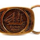 Vintage Captain Black Pipe Tobacco Belt Buckle