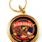 New Old Stock Airborne Screaming Eagles Key Chain