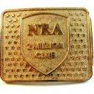 Vintage NRA 2 Million Club Belt Buckle