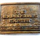 Vintage Atlas Powder Company The Explosive Experts Belt Buckle