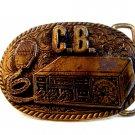 Vintage C.B. Radio Belt Buckle