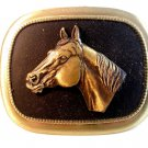Vintage Horse Head Western Cowboy Belt Buckle Made in U.S.A.