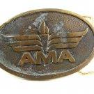 1970s AMA Academy of Model Aeronautics Torch Logo Belt Buckle 10242013