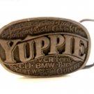 Vintage 1986 Yuppie Belt Buckle Made in U.S.A. by C&J