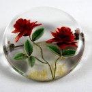 1950's Lucite Rose Flower Brooch 72514