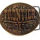 Vintage Frontier Hotel Las Vegas Belt Buckle #7