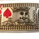 kIng of Red Spade Belt Buckle New in Plastic Wrap
