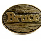 Vintage Made in USA Bruce Belt Buckle by Oden 10242013