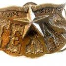 1980 Lone Star Texas Belt Buckle Made in U.S.A.