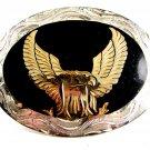 Western Cowboy American Eagle Belt Buckle by Silver Strike 12112013ea