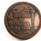 San Antonio Alamo & Tower of The America's Belt Buckle 11042013