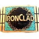 Vintage IronClad Solid Brass Belt Buckle Provo Utah