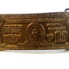 1976 The American State of Change Reserved for Patriots Belt Buckle