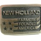 New Holland Farmers Founded America Belt Buckle by Lewis Corp 82114