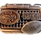 San Francisco 49ers Belt Buckle Made in U.S.A.
