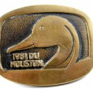 1981 DU Houston Belt Buckle for Ducks Unlimited Limited Edition 6914