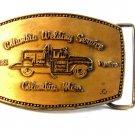 Vintage Columbia Mississippi Welding Service Belt Buckle