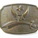 Vintage Shriners Masonic Buckle Unmarked 61315