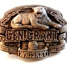 1995 General Grant Union Made Whiskey Belt Buckle Made in U.S.A.