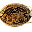 Vintage Tractor Implement Supply Co. 60 Years  Belt Buckle