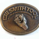 Vintage Smith Tool Division of Smith International Belt Buckle