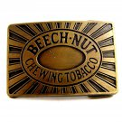 Vintage Beechnut Chewing Tobacco Belt Buckle 6914
