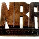 Vintage NRA National Rifle Association Belt Buckle