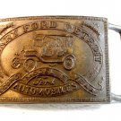 Vintage Henry Ford Detroit Record Model Year Belt Buckle